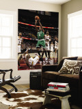 Boston Celtics v Cleveland Cavaliers: Marquis Daniels and Daniel Gibson Wall Mural by David Liam Kyle