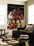 Philadelphia 76ers v Cleveland Cavaliers: Elton Brand and Anderson Varejao Wall Mural by David Liam Kyle