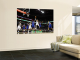 New York Knicks v Charlotte Bobcats: Amare Stoudemire and D.J. Augustin Wall Mural by Streeter Lecka