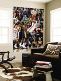 Los Angeles Clippers v Utah Jazz: Kevin Durant, Paul Millsap and C.J. Miles Wall Mural by Melissa Majchrzak