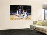 Dallas Mavericks v Oklahoma City Thunder - Game FourOklahoma City, OK - MAY 23: Jason Kidd and Russ Wall Mural by Joe Murphy