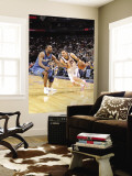 Washington Wizards v New Jersey Nets: Jordan Farmar and Gilbert Arenas Wall Mural by David Dow