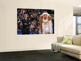 New York Knicks v Denver Nuggets: Mike D'Antonio and Carmelo Anthony Wall Mural by Garrett Ellwood