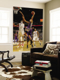 Phoenix Suns v Charlotte Bobcats: Goran Dragic and Derrick Brown Wall Mural by Kent Smith