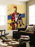 Toronto Raptors v Washington Wizards: Hilton Armstrong Wall Mural by Ned Dishman