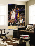 Los Angeles Lakers v Washington Wizards: Kobe Bryant and Nick Young Wall Mural by Andrew Bernstein