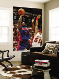Detroit Pistons v Miami Heat: Ben Gordon and Eddie House Wall Mural by Issac Baldizon