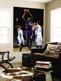 Sacramento Kings v New Orleans Hornets: Samuel Dalembert, David West and Jason Smith Wall Mural by Chris Graythen