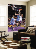 New Orleans Hornets v Sacramento Kings: Carl Landry and Jason Smith Wall Mural by Rocky Widner