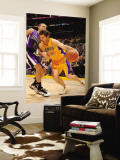Sacramento Kings v Los Angeles Lakers: Luke Walton and Francisco Garcia Wall Mural by Noah Graham