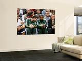 Memphis Grizzlies v Utah Jazz: Gordon Hayward and Jeremy Evans Wall Mural by Melissa Majchrzak