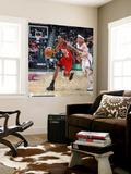 New Jersey Nets v Atlanta Hawks: Devin Harris Wall Mural by Scott Cunningham