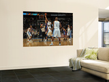New York Knicks v Denver Nuggets: Danilo Gallinaro Wall Mural by Doug Pensinger