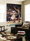 San Antonio Spurs v Utah Jazz: Deron Williams and Tony Parker Wall Mural by Melissa Majchrzak