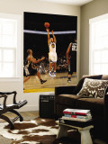 San Antonio Spurs v Golden State Warriors: Stephen Curry Wall Mural by Jed Jacobsohn