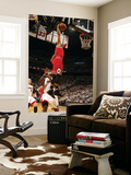 Chicago Bulls v Miami Heat - Game FourMiami, FL - MAY 24: Derrick Rose, LeBron James Wall Mural by Issac Baldizon