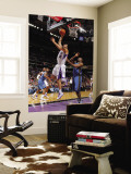 Washington Wizards v Sacramento Kings: Omri Casspi and Gilbert Arenas Wall Mural by Rocky Widner