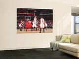 Atlanta Hawks v Chicago Bulls - Game Five, Chicago, IL - MAY 10: Joakim Noah and Josh Smith Wall Mural by Scott Cunningham