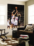 Utah Jazz v Los Angeles Clippers: Al Jefferson, Brian Cook and Eric Bledsoe Wall Mural by Noah Graham