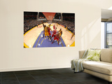 Chicago Bulls v Los Angeles Lakers: Derrick Caracter Wall Mural by Andrew Bernstein