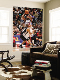 San Antonio Spurs v Los Angeles Clippers: Baron Davis and Tony Parker Wall Mural by Noah Graham