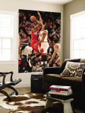 Los Angeles Clippers v Chicago Bulls: Derrick Rose and Baron Davis Wall Mural by Randy Belice