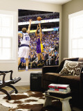 Los Angeles Lakers v Dallas Mavericks - Game Four, Dallas, TX - MAY 8: Derek Fisher and Dirk Nowitz Wall Mural by Noah Graham