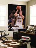 Indiana Pacers v Los Angeles Lakers: Pau Gasol, Roy Hibbert and T.J. Ford Wall Mural by Jeff Gross