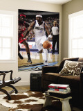 New Jersey Nets v Dallas Mavericks: Jason Terry and Anthony Morrow Wall Mural by Glenn James