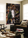 Milwaukee Bucks v Dallas Mavericks: Caron Butler and Drew Gooden Wall Mural by Danny Bollinger