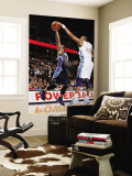 Orlando Magic v Denver Nuggets: Jameer Nelson and Shelden Williams Wall Mural by Garrett Ellwood