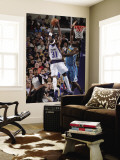 New Orleans Hornets v Dallas Mavericks: Jason Terry and Emeka Okafor Wall Mural by Glenn James
