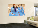 Phoenix Suns v Denver Nuggets: Hakim Warrick and Gary Forbes Wall Mural by Garrett Ellwood