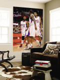 San Antonio Spurs v Los Angeles Clippers: Baron Davis, Brian Cook and Rasual Butler Wall Mural by Harry How