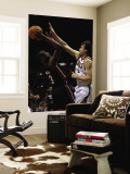 Miami Heat v Milwaukee Bucks: Dwyane Wade and Andrew Bogut Wall Mural by Jonathan Daniel