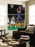 Washington Wizards v Boston Celtics: JaVale McGee and Glen Davis Wall Mural by Brian Babineau