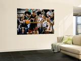 Miami Heat v Utah Jazz: LeBron James and C.J. Miles Wall Mural by Melissa Majchrzak