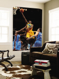 Oklahoma City Thunder v New Orleans Hornets: Quincy Pondexter, James Harden and Nick Collison Wall Mural by  Chris
