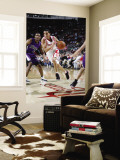 Sacramento Kings v Houston Rockets: Kevin Martin and Luther Head Wall Mural by Bill Baptist