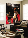 Rio Grande Valley Vipers v Austin Toros: Marcus Cousin and Patrick Patterson Wall Mural by Chris Covatta