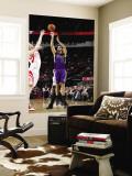 Sacramento Kings v Houston Rockets: Omri Casspi and Chase Budinger Wall Mural by Bill Baptist