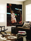 Atlanta Hawks v Chicago Bulls - Game Five, Chicago, IL - MAY 10: Derrick Rose Wall Mural by Jonathan Daniel