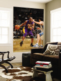 Los Angeles Lakers v Washington Wizards: Kobe Bryant and Kirk Hinrich Wall Mural by Andrew Bernstein