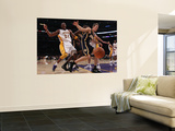 Indiana Pacers v Los Angeles Lakers: Kobe Bryant and Mike Dunleavy Wall Mural by Jeff Gross
