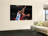 New Jersey Nets v Denver Nuggets: Devin Harris and Melvin Ely Wall Mural by Garrett Ellwood