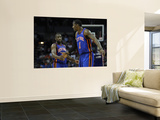 New York Knicks v Charlotte Bobcats: Amare Stoudemire and Raymond Felton Wall Mural by Streeter Lecka