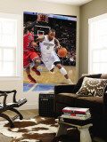 Chicago Bulls v Denver Nuggets: J.R. Smith and C.J. Watson Wall Mural by Garrett Ellwood