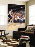 Oklahoma City Thunder v Utah Jazz: Thabo Sefolosha and Gordon Hayward Wall Mural by Melissa Majchrzak