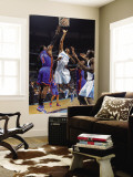New York Knicks v New Orleans Hornets: Trevor Ariza and Amar'e Stoudemire Wall Mural by Layne Murdoch