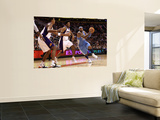 Denver Nuggets v Phoenix Suns: Carmelo Anthony and Josh Childress Wall Mural by Christian Petersen